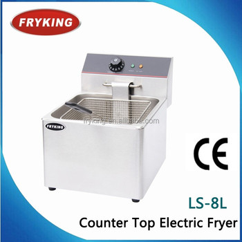 8L CE Counter Top French Fries Frying Machine