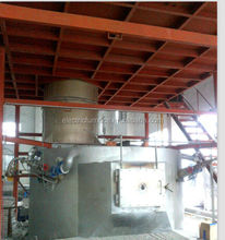 oil fired aluminum melting furnace and gas melting furnace