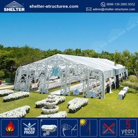 Guangzhou beautiful roof lining waterproof Flame redartant inflatable north face tent for sale in India