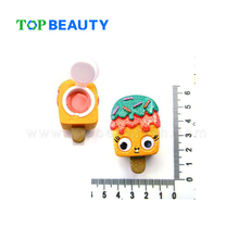 FB0306 new arrival cute Popsicle shape lip balm container