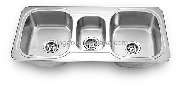 1030 Above counter undermount kitchen sink