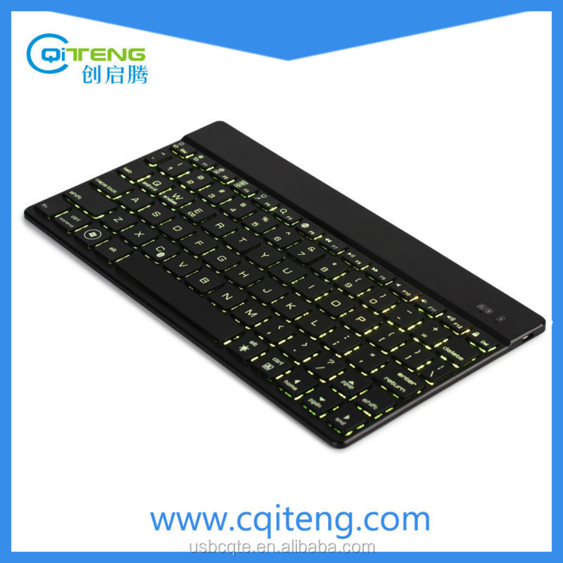 Ultra-Thin 7-Color LED Backlight Mini Wireless Keyboard