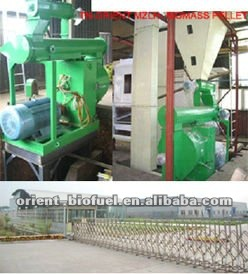 Professional Working MZLH Series Wood Pellet Mill Industry Use MLZH420/600/800-daivy