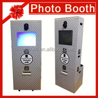 19 Inch LCD interactive outdoor color Photo Printing Vending Machine