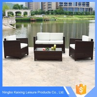 High quality waterproof ratan garden furniture