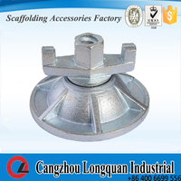 Support plate with wing nut