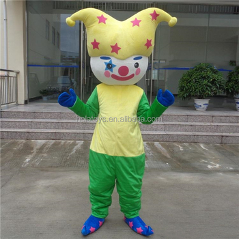 Hola clown mascot/custom fur costume for sale