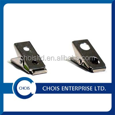 Factory Supply Metal Small Clip with 2 Hole, Smooth Face Clip 5715-1000