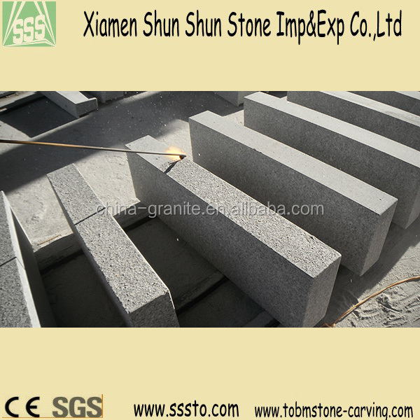 Outdoor Stone Steps Risers Granite Stairs for Sale