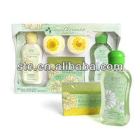 5pcs body care bath gift set for travel