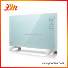 High Quality White Glass Panel Wall Heaters With Remote Control
