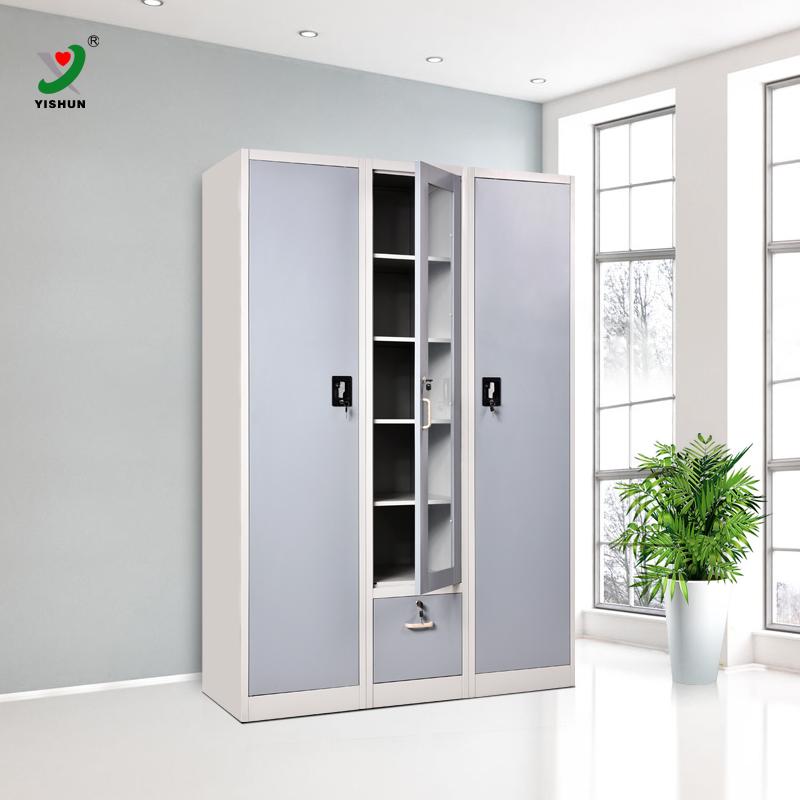 Furniture Design Of Almirah diy bedroom furniture 3 door steel almirah clothes wardrobe design
