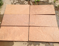pink color sandstone