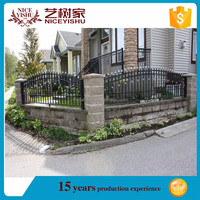 wholesalers china new products cheap sheet metal fence panels /galvanized steel fence panels/fencing design