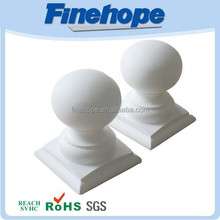 PU polyurethane Anti-corrosion Duarable Post Caps stainless balustrade post