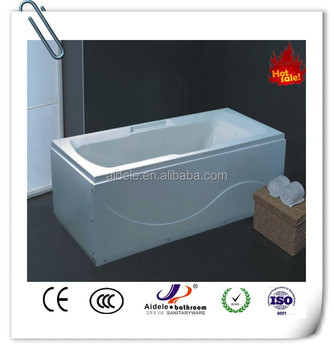 CL-713 White one person cheap easy clean simple ABS shower buthtub