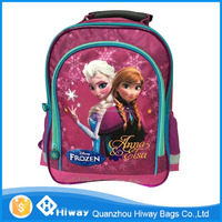 Wholesale New Arrival Frozen Anna & Elsa Children School Bags Printing Cartoon Schoolbag Kids Backpack For Girls