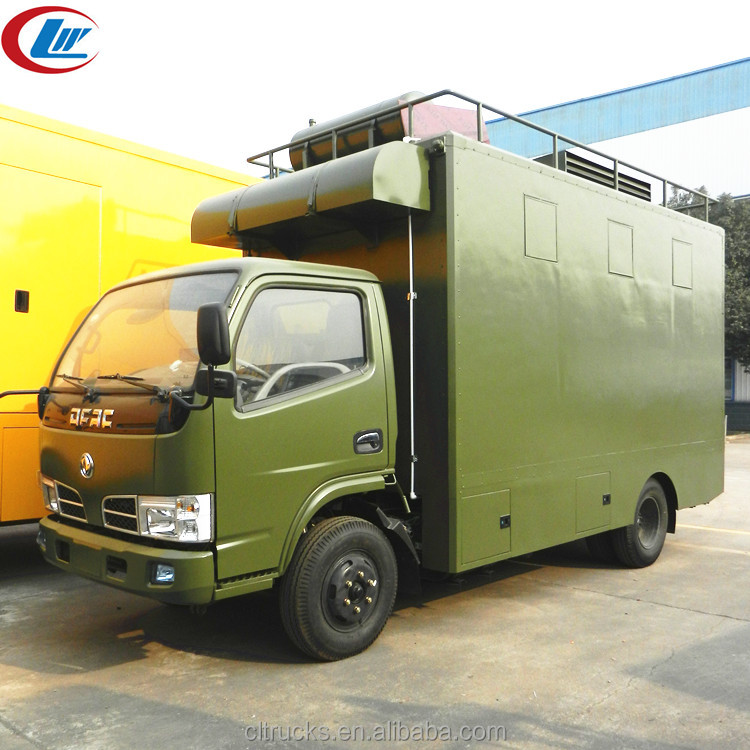 Top selling many company buy china mobile kitchen food van