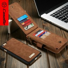 CaseMe Top Sale Wallet Case for iPhone6s 7 plus, for iPhone 6 Cell Phone Leather Case, Cover for iPhone7