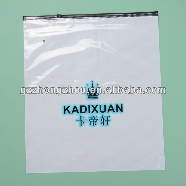 Plastic bags manufacturer in China perforated plastic bags zipper plastic bags