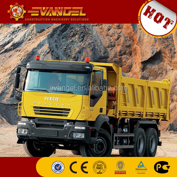 japanese used dump truck IVECO brand dump truck with crane dump truck radiator for sale