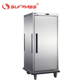 Mobile Banquet Heating Cart food warmer serving trolley