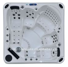 Stainless jets outdoor portable hot tub JCS-19 with feet/leg/back massage