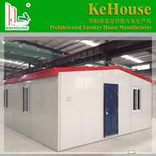 20sqm double stories low cost light steel green prefab living houses for sale