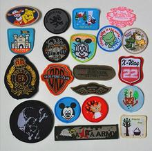 garment accessory High quality fabric woven label patch&badge