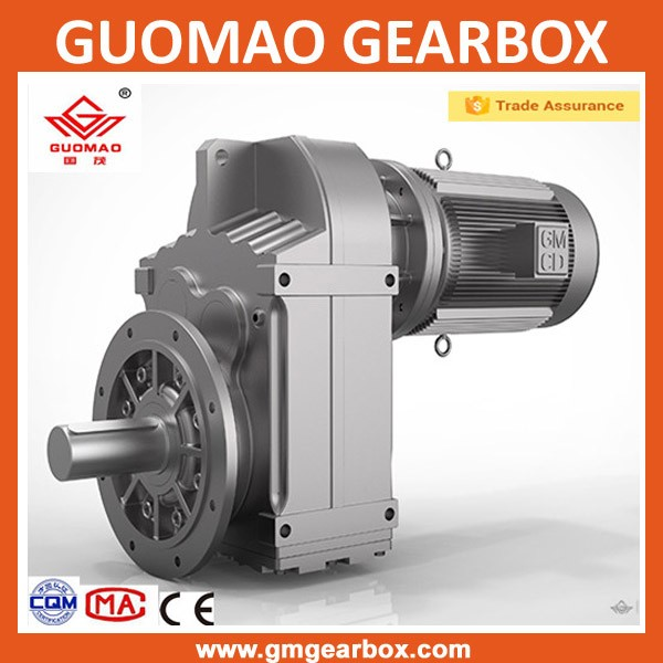 Sell OEM Horizontal helical worm 1 hp gear motor with ac electric motor
