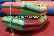 2013 Hot sale inflatable boat for lake, aqua parks
