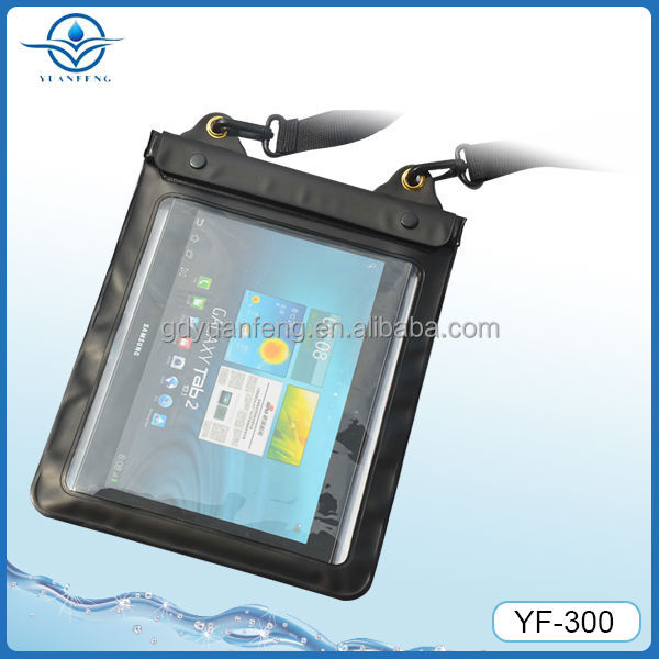waterproof pouch for ipad (Allows to view your tablet PC while still in the pouch)