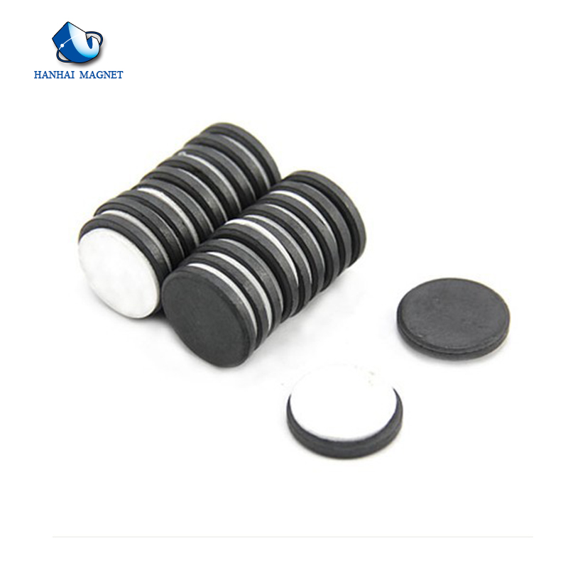Permanent Strong Ferrite disc ring lifting hard magnet for speaker