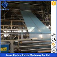 Three layer 16m wide agricultural greenhouse plastic film extruding machine