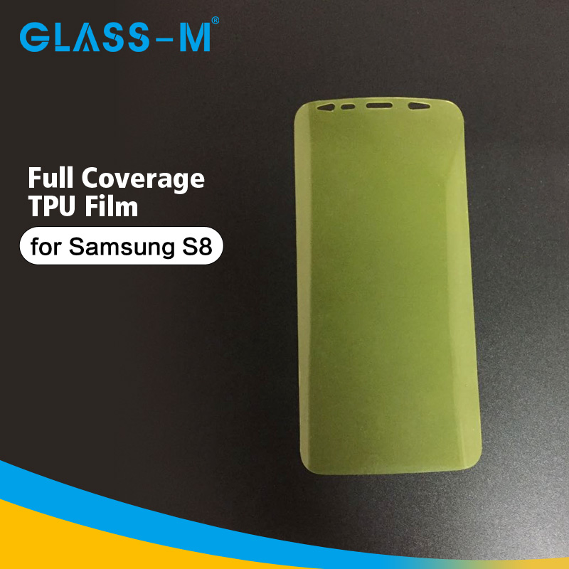 Perfect Fit TPU Adhesive Film for Samsung Galaxy S8 Screen Protector