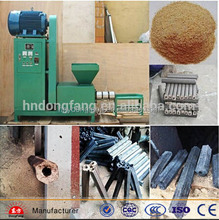 charcoal machine for rice husk/hull/wood briquette machine for sale