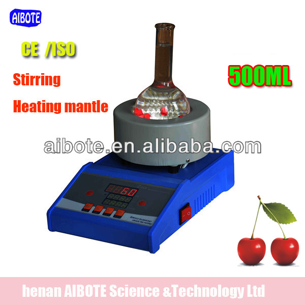 Lab LED display heating mantle with Temperature Controller