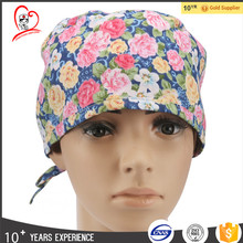 Medical Cotton Surgical Nurse Scrub doctor Cap With Tie