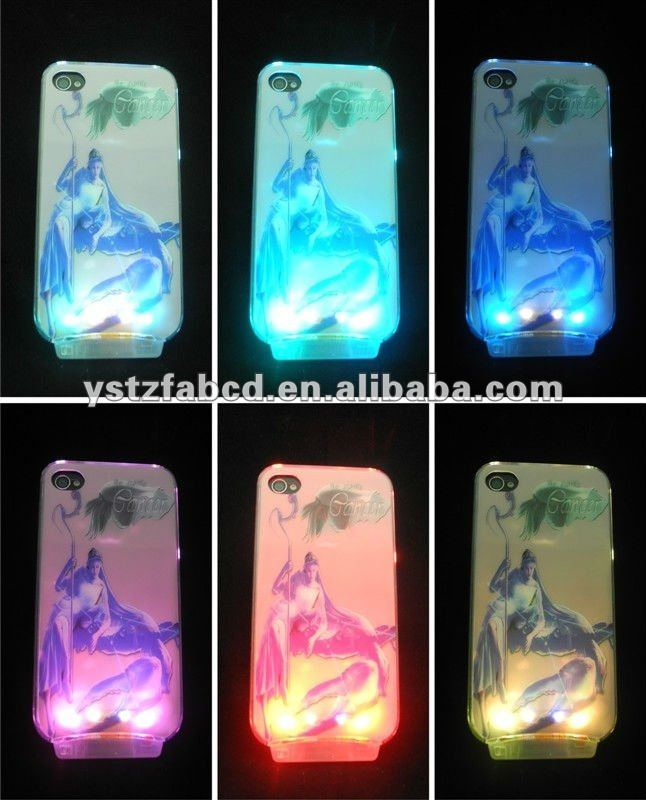 Beautiful & Cool Shinning LED Light Up Phone Cover