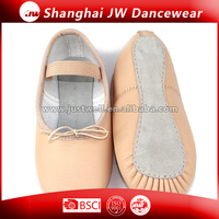 Fashion ballet shoes Dance shoes Wholesale Cow leather ballet shoes