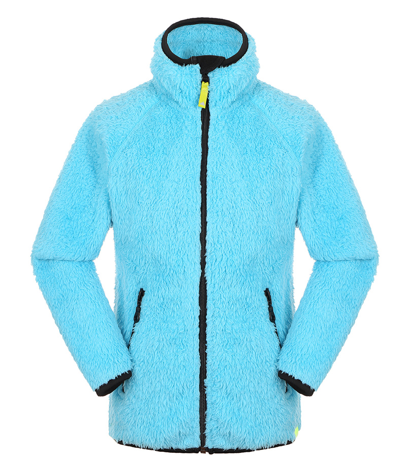 fashion coral fleece lady winter jacket clothing
