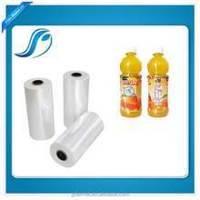 PET Heat Shrink Wrap Plastic Film For Bottle Shrink Sleeves