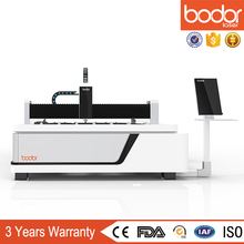 China Bodor Laser cutting machine install wheel gear