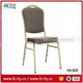 wholesale hotel chair stacking price steel banquet chair with upholstered HC-920