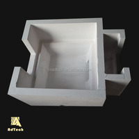 Factory manufacturer Molten aluminium purification silicate filter box