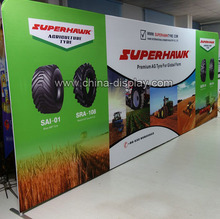 20feet Straight aluminum frame tension fabric display backdrop tradeshow equipment