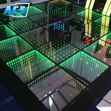 newest products in market led disco dance floor / led dance floor panel / Mirror 3D led dance floor
