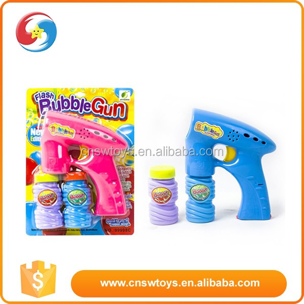 Wholesale cheap high quality funny kids soap bubble blower gun