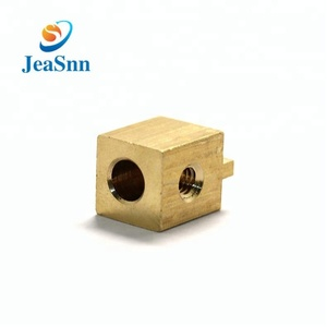 Square Pass Brass Copper Connector Battery Terminal Brass Electrical Terminal