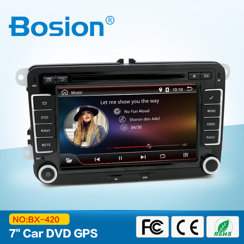 High-end Auto Android Rear Camera input VW Passat b7 Car Radio With Navigation System Wifi